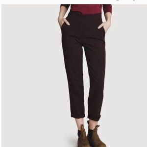 Kit and Ace Mulberry pant / black 8